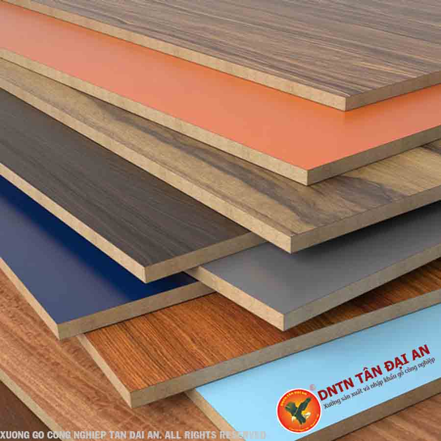 gỗ melamine là gì