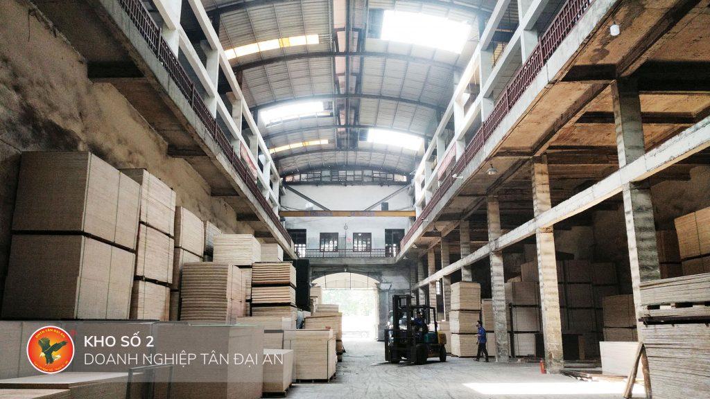 Kho gỗ dán Plywood Tân Đại An
