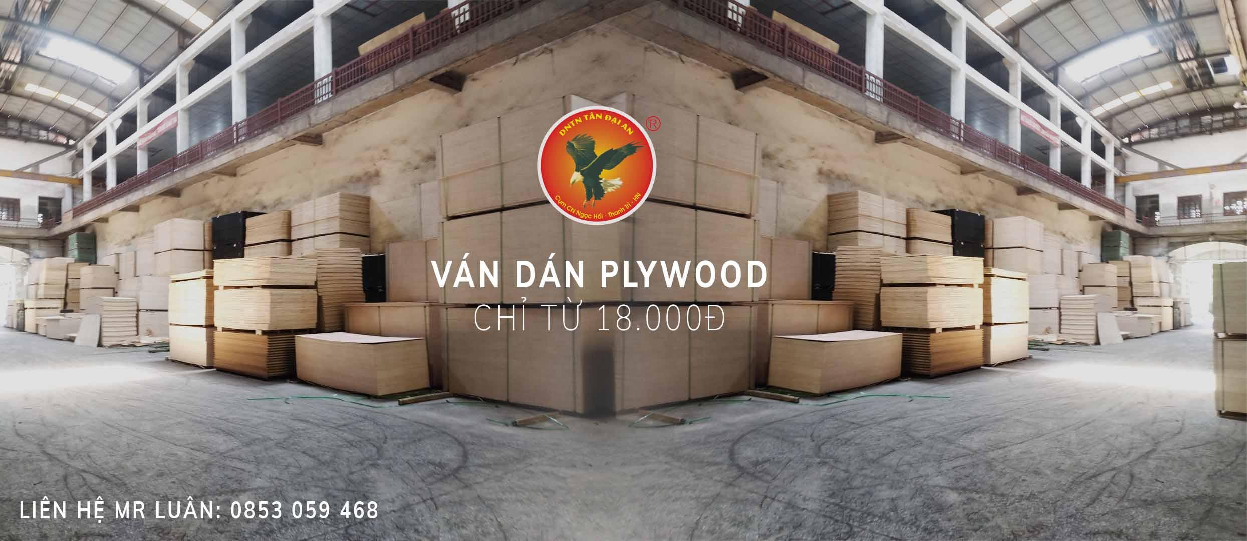 Ván gỗ dán Plywood