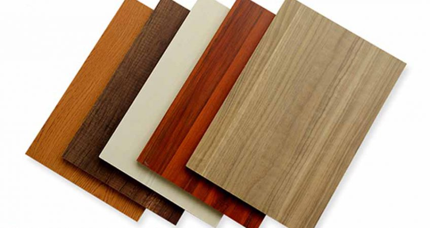ván gỗ MDF phủ Melamine